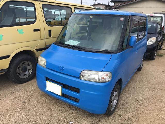 ダイハツ 軽自動車 4WD ブルー AC 4名乗り オーディオ付