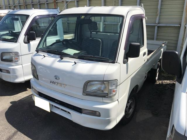 ダイハツ  4WD AC MT 軽トラック 2名乗り ホワイト