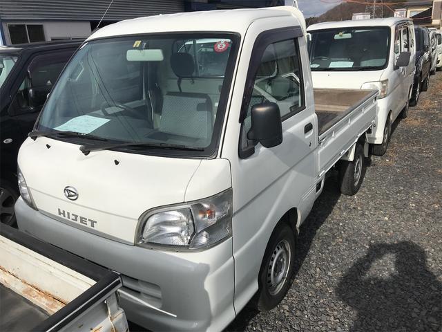 ダイハツ  5速マニュアル エアコン 軽トラック ホワイト色