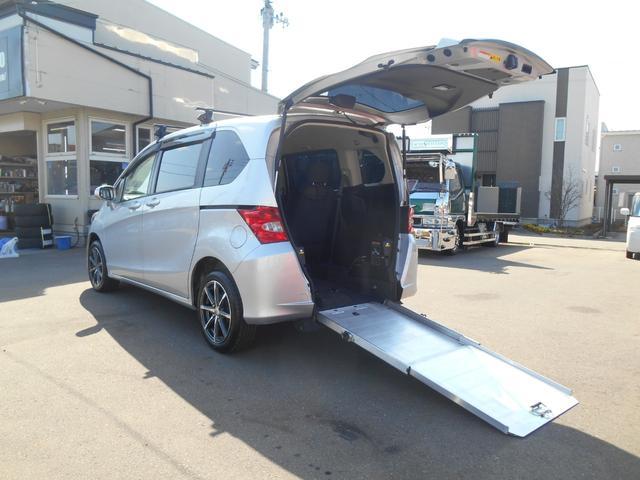 ホンダ フリード 1.5Xスローパー福祉車両1台固定電動式
