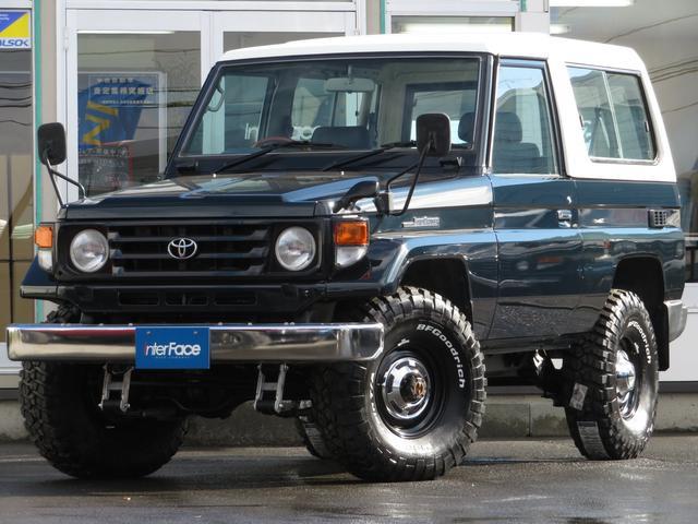トヨタ LX後期型前後リーフ5速MT前後デフロックマニハブ2UP公認