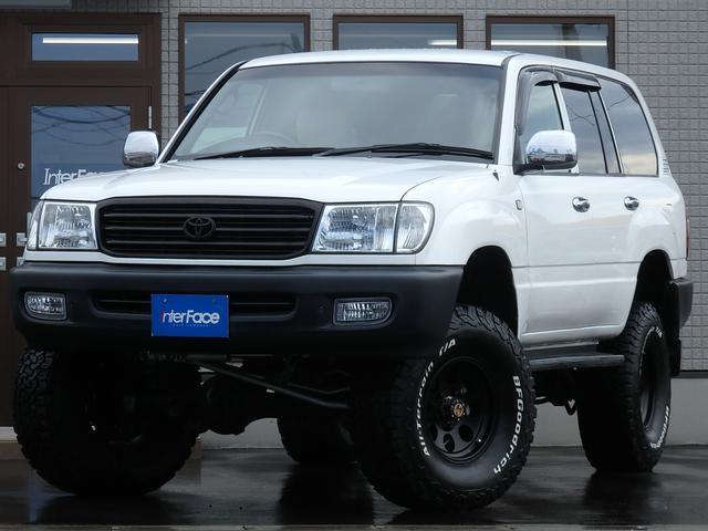 トヨタ 切替4WD観音扉ディーゼルNOX規制適合車両全国登録可能車両 サブタンク付5速マニュアル105AISINマニアルハブFOXダブルショック6インチリフトアップFOXステアリングダンパーミッキートンプソン16インチAWBFグッドリッジオールテレーンKO2