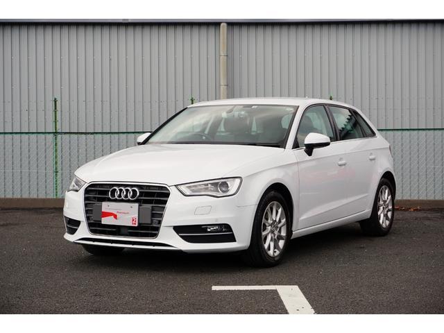 アウディ A3 スポーツバック1.4TFSI ワンオーナー 禁煙車 ナビ リヤカメラ レザー Audi認定中古車