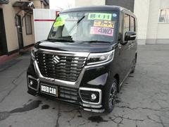 スペーシアカスタムハイブリッドXSターボ ブレーキサポート付 4WD