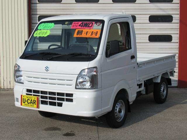 スズキ KCエアコン・パワステ付 4WD 5MT