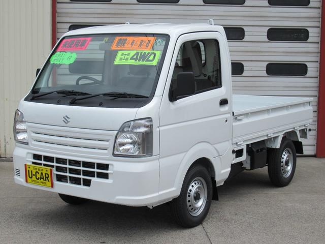 スズキ KCエアコン・パワステ付 4WD 5MT ABS付