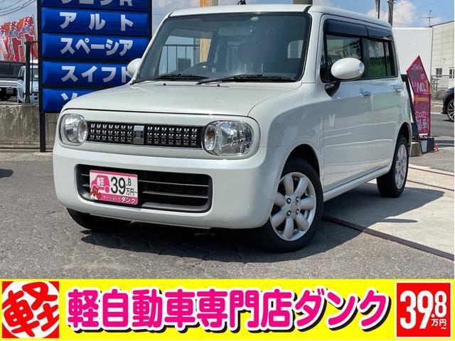 スズキ G 2年保証 4WD CVT エンジンスタータ シートヒーター