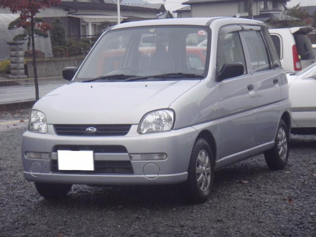 スバル A 4WD 社外CDデッキ