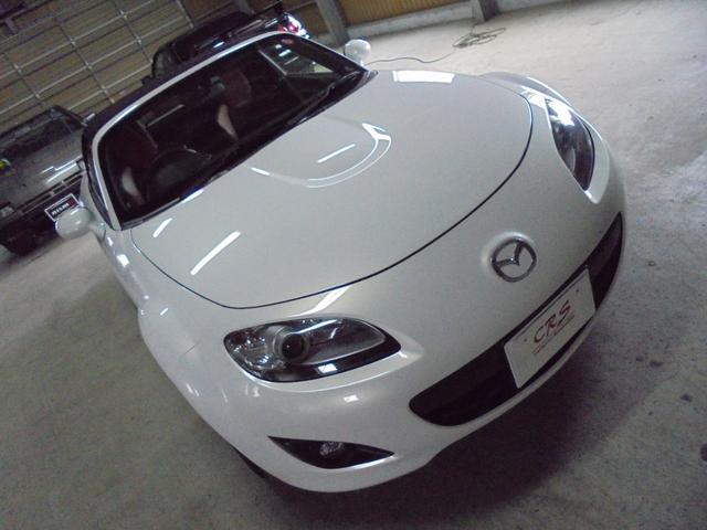 マツダ ロードスター 20周年記念車 ホワイトパール2000ccモデル 6速MT 車高調 トラストマフラー ETC ナビ