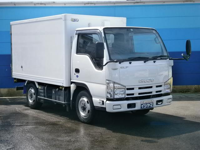 いすゞ 冷蔵・冷凍車 4WD 東プレ製-5℃ 積載量1350kg