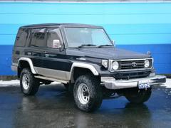 ランドクルーザー70ZX 4WD サンルーフ リフトアップ 社外アルミホイール