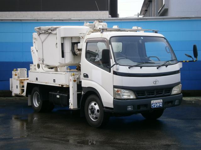 トヨタ 高所作業車 AICHI製 作業床高13.3M ワンオーナー車