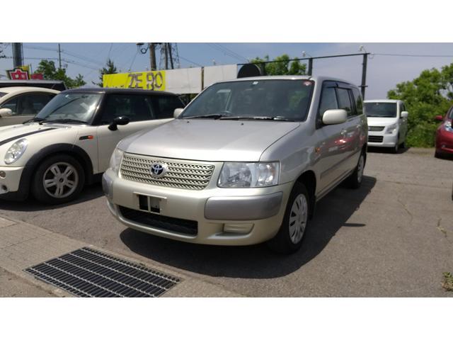 トヨタ サクシードワゴン TX Gパッケージ4WD、ナビ