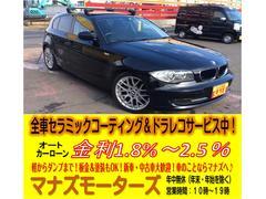BMW116i パドルシフト 社外ルーフキャリア ローダウン