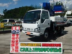 エルフトラック4WD高所作業車 電工仕様9.7M アイチ 雪道も安心4WD