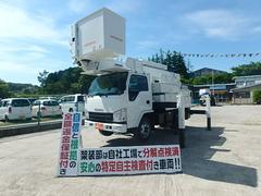 エルフトラック高所作業車 電工仕様 14.6M アイチ SH15B FRP