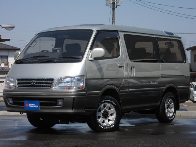 トヨタ スーパーカスタムLTD4WDディーゼル新品BFタイヤ7人乗