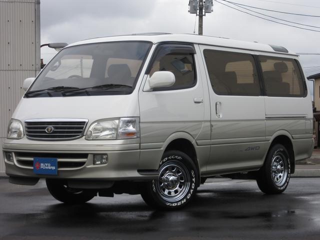 トヨタ リビングサルーンEXディーゼルターボ4WDデイトナホイール