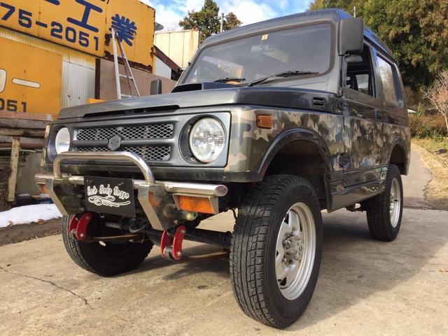 スズキ EC JA11V改 リフトUP公認済 パノラミックルーフ MT 4WD
