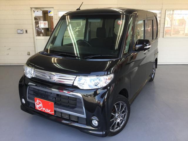 ダイハツ タント カスタムXスペシャル 4WD 純正ナビ エンジンスターター エコアイドル パワースライドドア