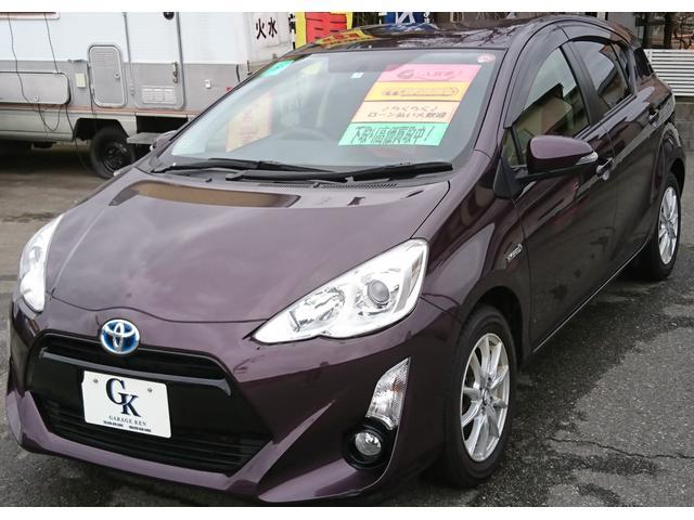 トヨタ アクア S 社外CD キーレスエントリー 専用コンビシート 社外AW