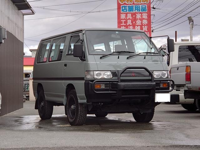 三菱  4WD AT カスタムオールペン タイベル済