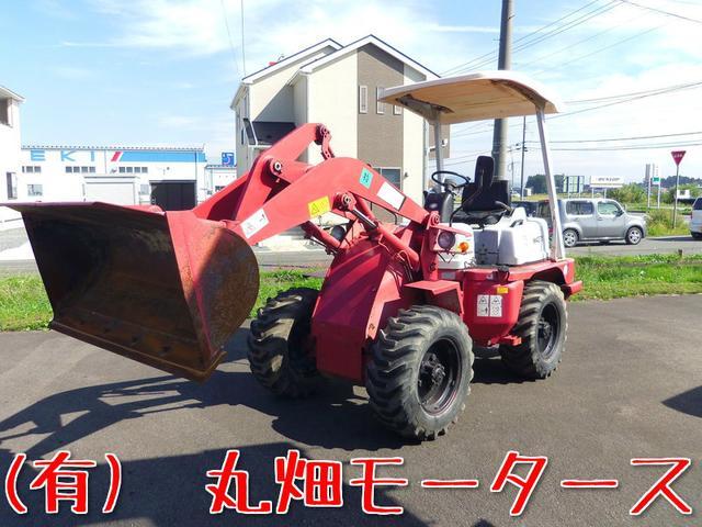 三菱 ホイールローダー 除雪車 ディーゼル 4WD 2400h