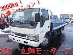 エルフトラック積載車 セーフティーローダー 3t 6速 3000kg積