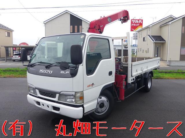 いすゞ 2t標準ロング 3段クレーン ユニック 関東仕入