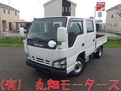 エルフトラックWキャブ 切替式4WD オートマ  6人乗り 関東仕入