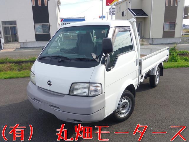 日産 平ボディ 4WD シングルタイヤ 850kg 関東仕入
