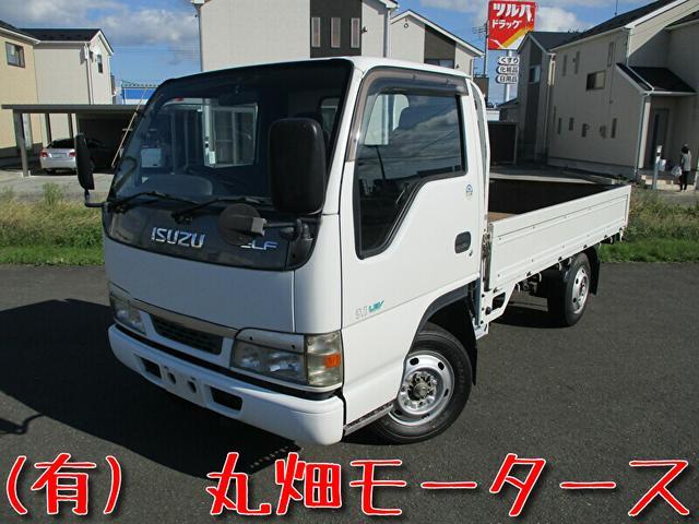 いすゞ エルフトラック 1.5t/平ボディ/保証付/シングルタイヤ/関東仕入/NOx