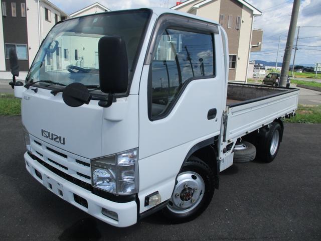 いすゞ エルフトラック フルフラットロー 4WD/全低床/最大積載量1500kg/保証付き/キーレス/NOx適合/ディーゼルターボ