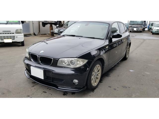 BMW 118i ナビ 盗難防止システム CD サイドエアバッグ