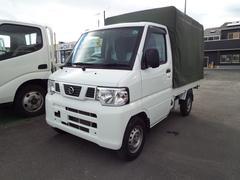 NT100クリッパートラックDX 4WD  エアコン・パワステ・オートマ・幌付