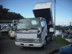 エルフトラック全低床強化ダンプ 2トン メッキパーツ多数