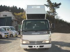 エルフトラック全低床3トン強化ダンプ