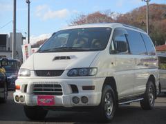 デリカスペースギアスーパーエクシード 4WD ディーゼル クリスタルライトR