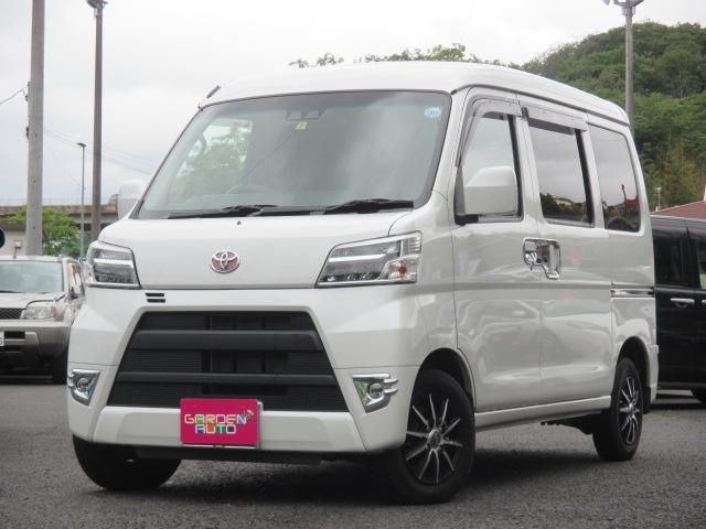 トヨタ クルーズ SAIII 4WD ハイルーフ 社外ナビ 現行型