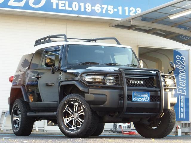 トヨタ 4WD リフトUP グリルガード 純正HDDナビ 17AW