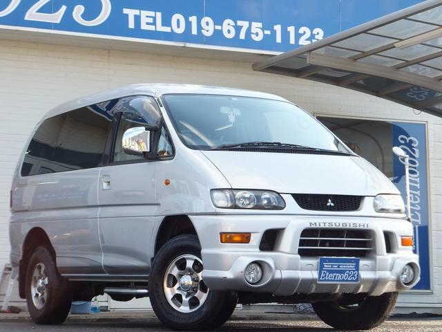 三菱 シャモニー 4WD CDチューナー ETC 3列シート