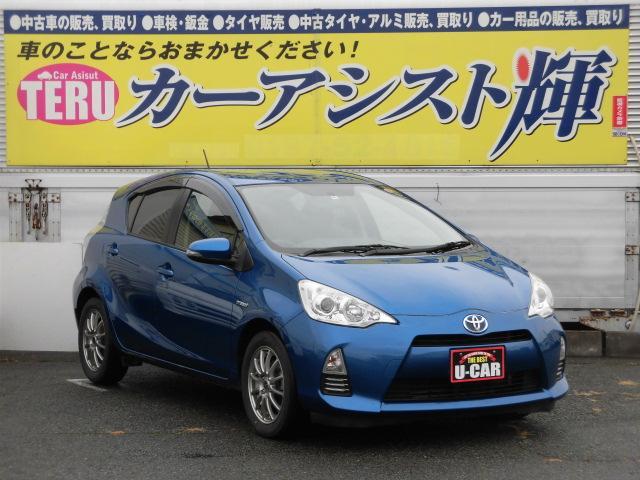 トヨタ S プッシュスタート ナビ&TV バックカメラ 15AW