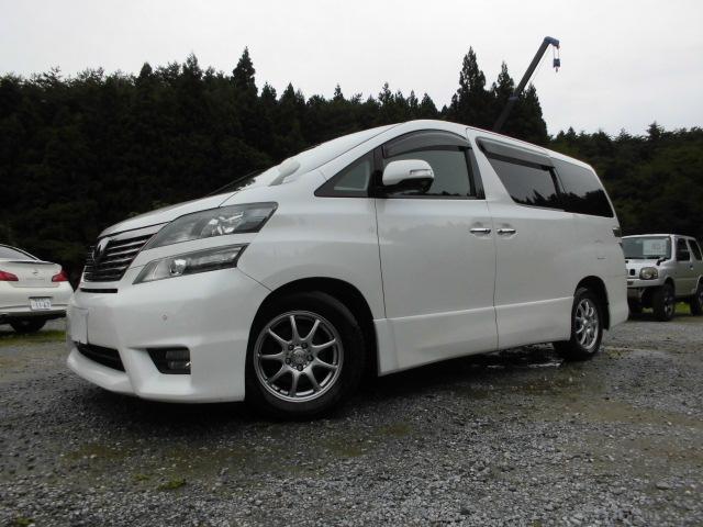 トヨタ 2.4Z プラチナセレクションII4WD社外ナビ後席モニター