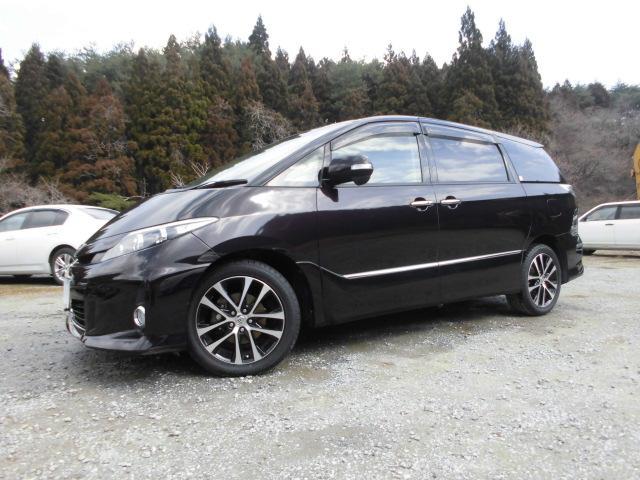 トヨタ アエラスプレミアムED4WD純8インチHDDナビ後席モニター
