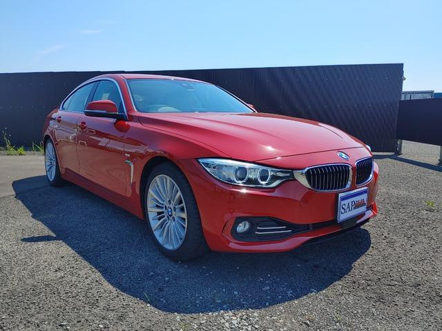 BMW 4シリーズ 420iグランクーペ ラグジュアリー キャメルカラーレザーシート・ナビ・TV・バックカメラ・6ヶ月保証付き