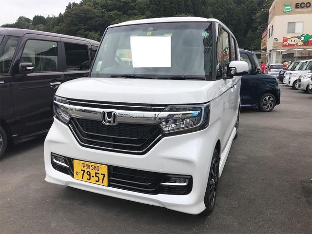 ホンダ N-BOXカスタム G・Lホンダセンシング 2WD バックカメラ 電格ミラー 衝突軽減 キ-フリ- 前席シートヒーター