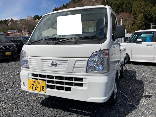 日産 NT100クリッパートラック DX 4WD AC MT ホワイト