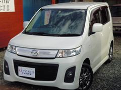 AZワゴンカスタムスタイルXS 4WD HID オートAC スマートキー 車検整備付