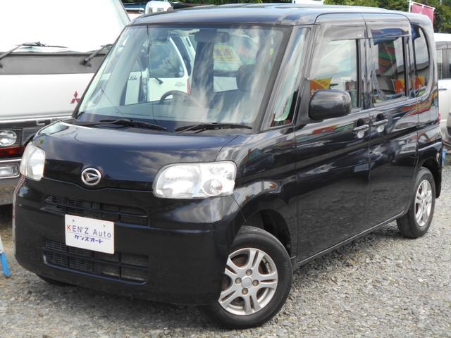 ダイハツ X 4WD スマートキー スライドドア AAC ベンチシート アルミ ブラック 車検整備付