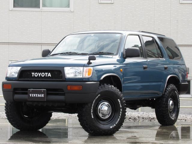 トヨタ SSR-Xディーゼル4Runner仕様新品タイヤリフトアップ
